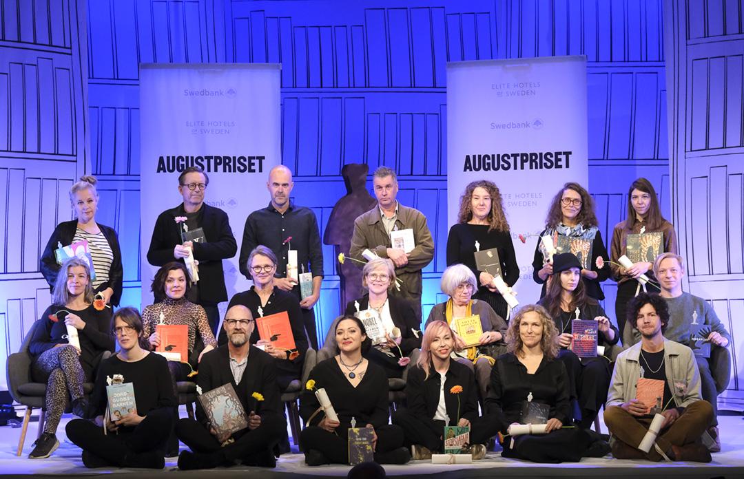 STOCKHOLM 20191021 Augustprisnominerade 2019 ©Sören Andersson Foto: Sören Andersson